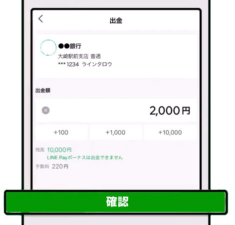 LINE Pay パパ活